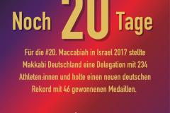 Social Media: MAKKABI Deutschland Games