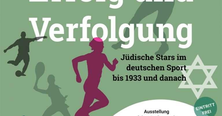 """Ausstellung """"Zwischen Erfolg und Verfolgung – Jüdische Stars im deutschen Sport bis 1933 und danach"""" in Frankfurt am Main"""