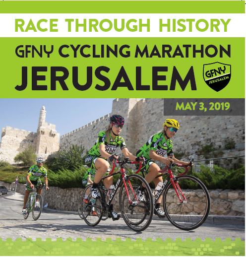 JOIN GRAND FONDO 🚲🚲🚲 JERUSALEM – MAY 3RD, 2019