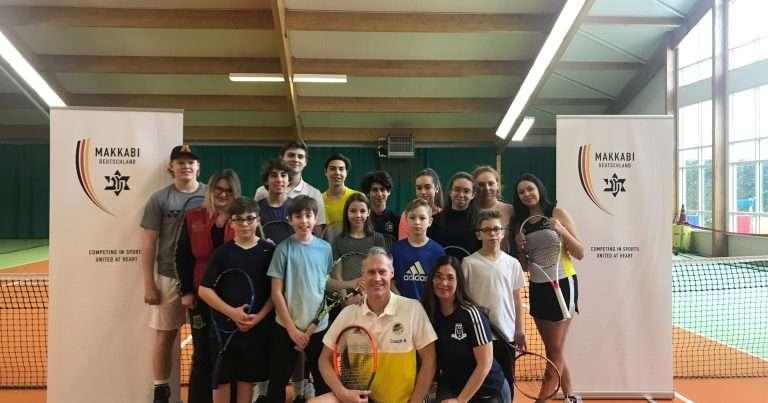 Erster Tennis Junioren-Lehrgang 2019