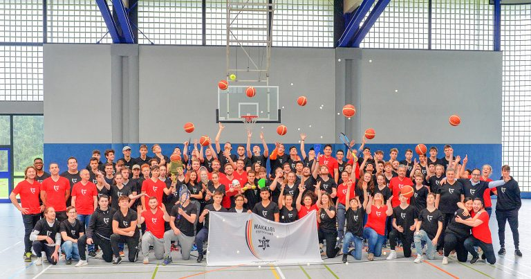 Erster Makkabi Deutschland Junioren Großlehrgang