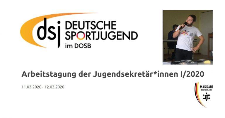 MAKKABI Deutschland bei der DSJ-Tagung der Jugendsekretär*innen in Halle