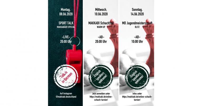 MAKKABI SPORTWOCHE 08. – 14.06.2020