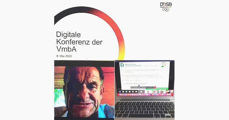 Virtuelle VmbA-Konferenztagung des DOSB