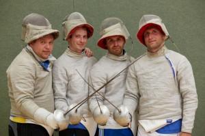 A.-Bondar-A.Medowoi-K.-Boyko-R.-Satschkow-Team-Rostock